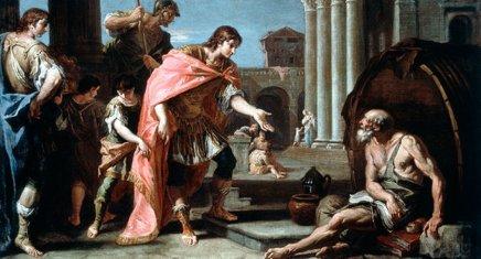 डायोजीनस और सिकंदर