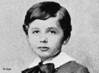 albert einstein childhood photo