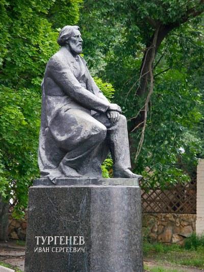 Ivan Turgenev Monument in Oryol
