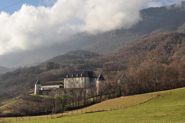 Château du Touvet, Le Touvet, Isère, Rhône-Alpes, France