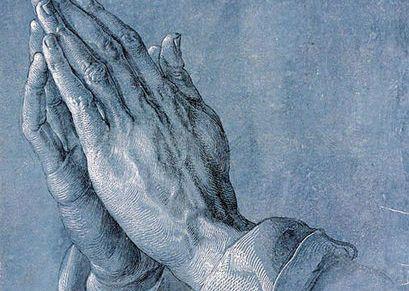 प्रार्थना के हाथ