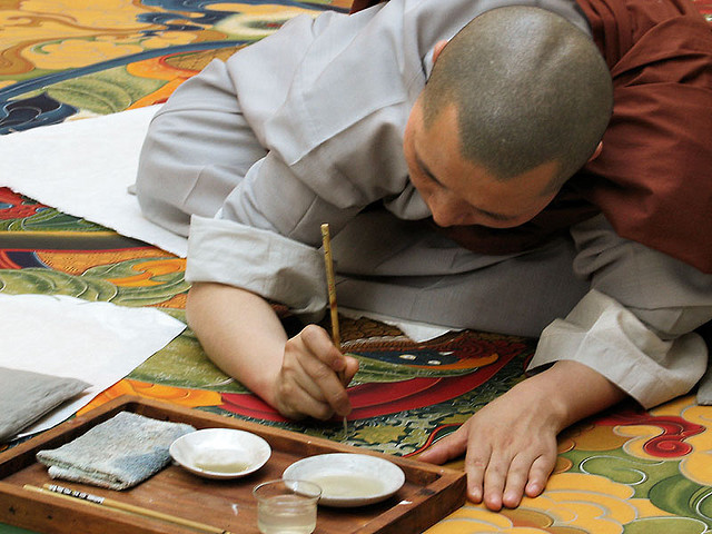 monk painter