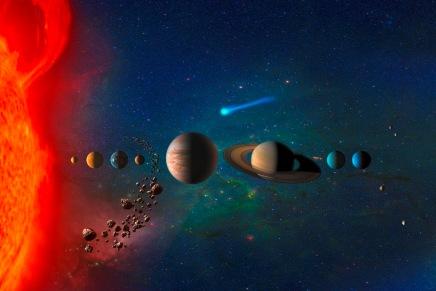 हमारा सौरमंडल कितना बड़ाहै?