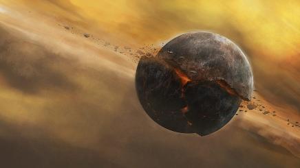 यदि हमारा चंद्रमा आधे से भी अधिक नष्ट हो जाए तो क्याहोगा?
