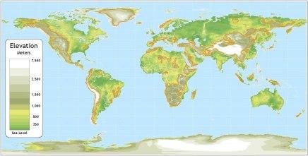 पृथ्वी की सारी बर्फ पिघल जाने पर क्याहोगा?