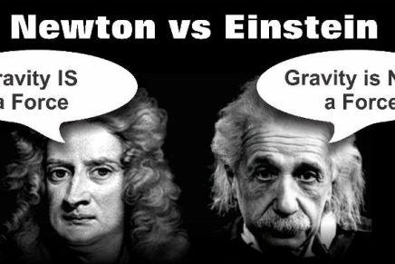 न्यूटन और आइंस्टीन ने अपने सिद्धांतों में कौन सी गलतियांकीं?