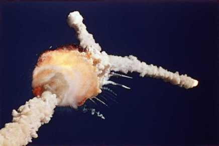 चैलेंजर स्पेस शटल दुर्घटना और उससे मिलनेवालीसीख