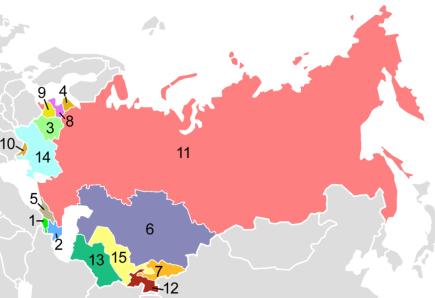 1991 में सोवियत संघ के टूटने पर 15 नए देश क्योंबने?